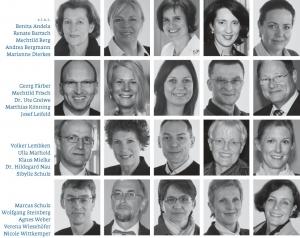 Die Gründungsmitglieder des Lions Club Ahlen-Münsterland